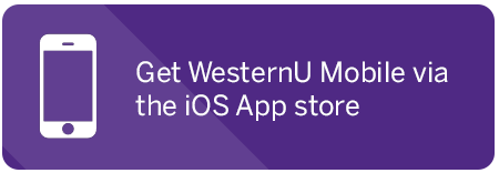 Get WesternU Mobile on the iOS app store